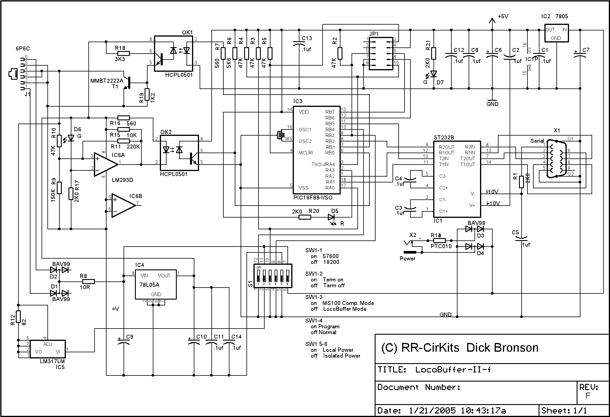 locobuffer ii schematic notes this new schematic is for the revised version of the locobuffer ii these revisions include extensive internal changes to convert it to smt